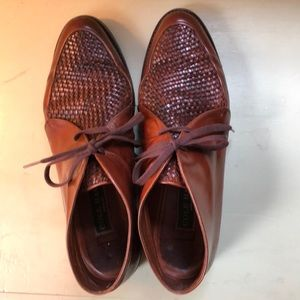 COLE HAAN vintage leather shoes-made in Italy.